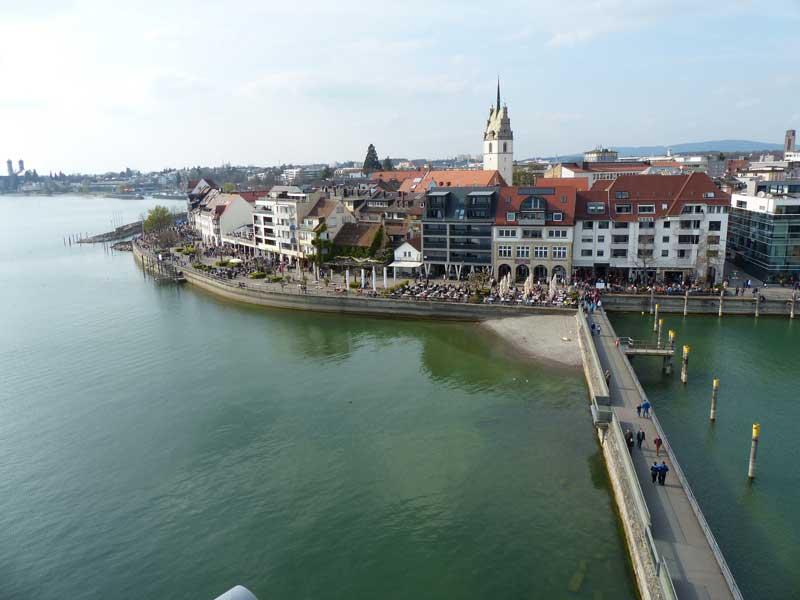 Steg in Friedrichshafen